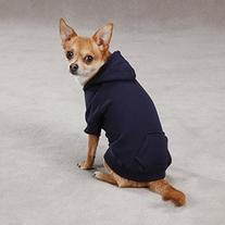"""Casual Canine Basic Hoodie for Dogs, 24"""" XL, Navy"""