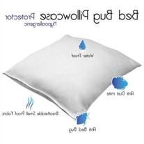 Remedy Cotton Bed Bug and Dust Mite Pillow Protector - King