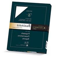 Southworth 25% Cotton Business Paper, 20 Pounds, White, 100