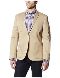 Dockers Men's Khaki Cotton Sport Coat, Khaki, 38 Regular