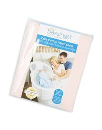 Cotton Fitted Sheet For  Bassinest Swivel Sleeper, Size One