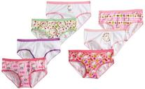Hello Kitty Girls' or Little Girls' 7-Pack Cotton Hipster