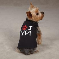 Casual Canine Cotton I Paw NY City Dog Tank, X-Large, 24-