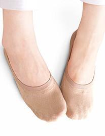 Vero Monte 6 Pairs Womens Cotton No Show Liner Socks