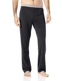 Emporio Armani Men's Cotton Modal Pant, Dark Grey Melange,
