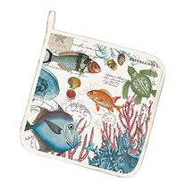 Michel Design Works Cotton Potholder, Sea Life