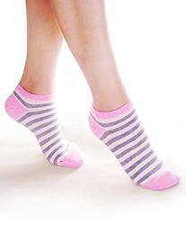 Vero Monte 6 Pairs Womens Cotton No Show Ankle Socks 3541