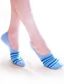 Vero Monte 6 Pairs Womens Cotton No Show Liner Socks  3682