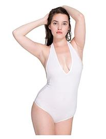 American Apparel Cotton Spandex Halter Leotard rsa8312 -