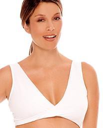 Lamaze Cotton Spandex Sleep Bra for Nursing and Maternity -