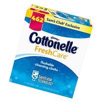 Kleenex Cottonelle Flushable Cleansing Cloths Fresh Care