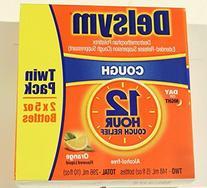 Delsym Cough Suppressant Alcohol Free Orange Flavored Liquid
