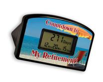 BigMouth Inc Countdown Timer - Retirement Red Chair