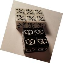 10x Counter & Loyalty 1-6 Dice for Magic: The Gathering and
