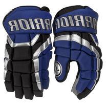 Warrior Junior Covert DT2 Hockey Glove, Blue/Black/Silver,