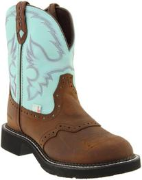 Ladies Cowboy Boot Removable Orthotic Insert Rubber Outsole