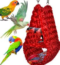Cozy Parrot Hideaway Tent - Perfectly sized for conures,