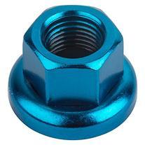 Origin8 Cr-Mo Hub Axle Nuts, M10 x 1.0, Blue