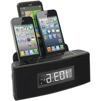Dok Cr18 3-Port Smartphone Charger with Speaker and Alarm