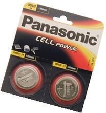 One  Twin Pack  Panasonic Cr2032 Lithium Coin Cell Battery