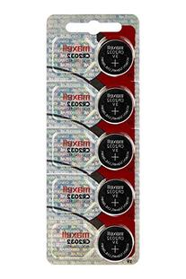 Maxell CR2032 lithium batteries - Pack of 20, New hologram