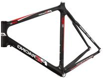 PZ Racing CR3.1FM Bike Frame, 700x55cm, Shiny Black