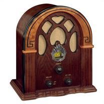 Crosley CR31-WA Companion Retro AM/FM Radio with Full-Range