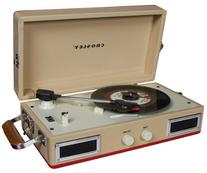 Crosley CR40-RE Mini Turntable with Full-Range Stereo