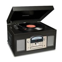 Crosley Radio CR6001A-BK Archiver USB Turntable in Black