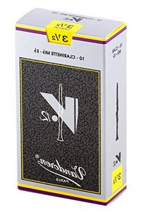 Vandoren CR6135 Eb Clarinet V.12 Reeds Strength 3.5; Box of