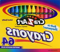 Cra-Z-art Crayons, 64 Count