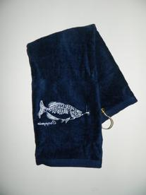 Crappie Fishing Towel