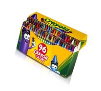 Crayola; Crayons; Art Tools; 96 ct.; Durable, Long-Lasting