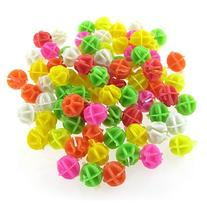 Bicycle Spoke Colorful 0.55 Diameter Beads Decor 80 Pcs by