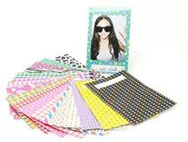 -- CAIUL 60 Sheets Creative Colorful Film Decor Sticker