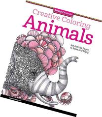 Creative Coloring Animals: Art Activity Pages to Relax and