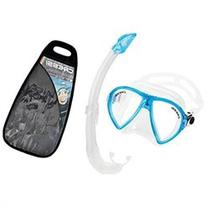 Cressi Ocean Mask and Mexico Snorkel Combo Clear