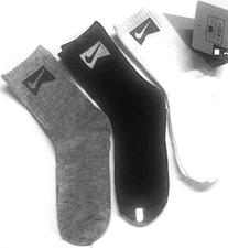 Nike 3 Pairs/Pack High Crew Socks, Youth Boy's Size- 3Y-5Y