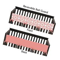 Baby Crib Long Rail Guard Wrap Cover Teething Protector for