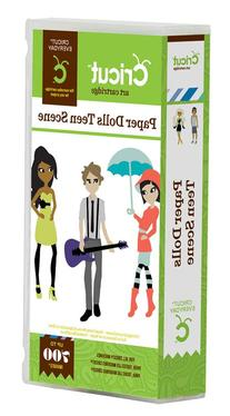 Cricut Paper Dolls Teen Scene Cartridge