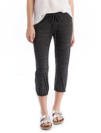 Alternative Womens Eco-Jersey Crop Pants