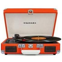 Crosley Cruiser Deluxe Orange With Added Bluetooth And Pitch