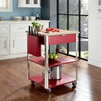 Crosley Furniture Culinary Prep Kitchen Cart