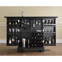 Crosley Alexandria LaFayette Bar Cabinet with Wine Storage