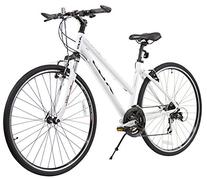 XDS Women's Cross 300 24-Speed Step-Through Hybrid Bicycle,