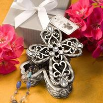 Fashioncraft Cross Design Curio Boxes