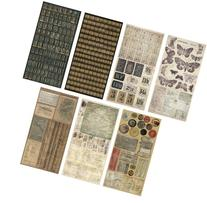 Crowded Attic Salvage Stickers by Tim Holtz Idea-ology, 372