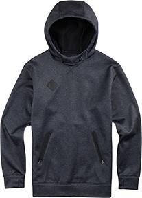 BURTON Men's Crown Bonded Pullover Hoodie, Small, True Black