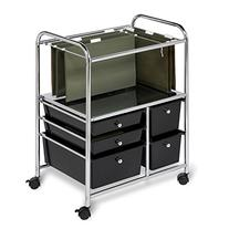 Honey-Can-Do CRT-01512 5 Drawer Hanging File Cart
