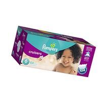 Pampers Cruisers Diapers Size 6, 104 Count